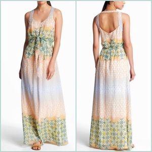 Jessica Simpson Pastel Maxi Dress