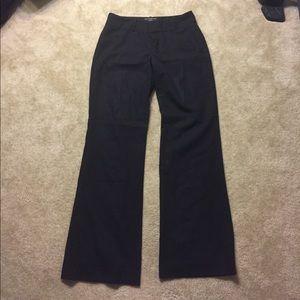 BANANA REPUBLIC Lined Black Dress Pants 4