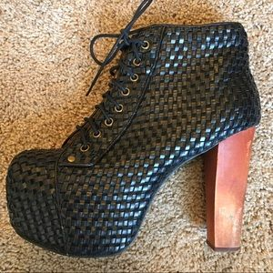 Jeffery Campbell Lita Woven Boot