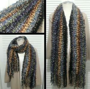 Accessories - 🍁Autumn🍁Colored Chunky Wide Knit Scarf