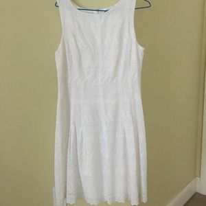 White cotton sundress, worn only once