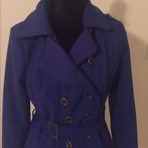 Blue coat in excellent condition