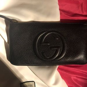 Gucci soho wristlet in excellent condition.