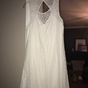 Creme xhilaration dress from Target Size S