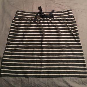 NWOT LOFT stretchy cotton skirt