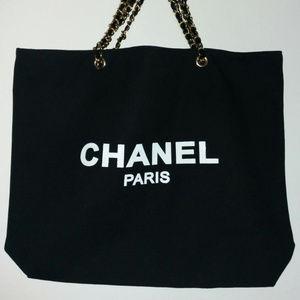 chanel vip bag canvas tote bag