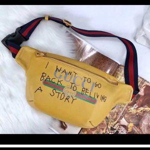 Mustard Authentic Gucci Coco Capitan Bag