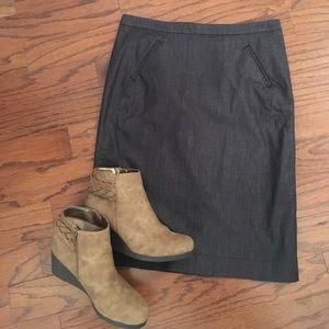 LOFT Pencil Skirt Size 2