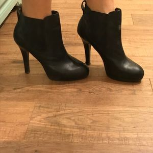Jessica Simpson Leather stiletto boots. Size 7