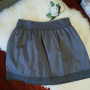 Gray women's Gap skirt .