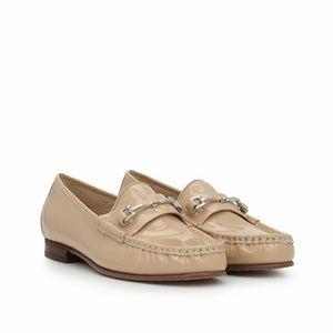 NWOT Sam Edelman Talia Leather Buckle Loafer