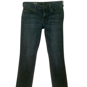 J. Crew Matchstick Straight Leg Jeans Sz 27