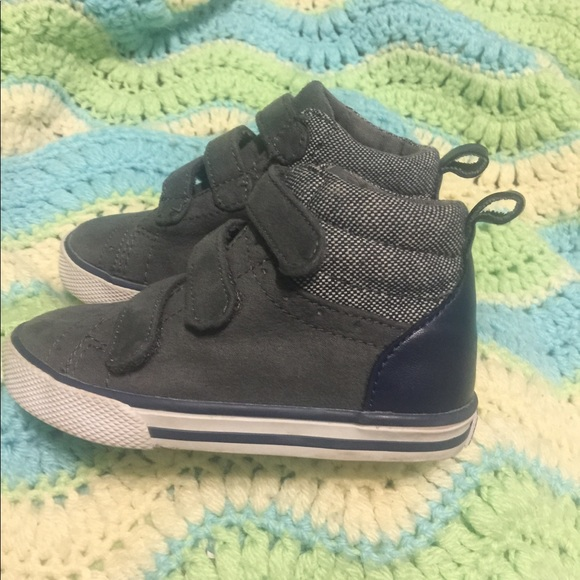 2c53417a6886 Gymboree Shoes | Crazy 8 Gray Hightop Sneakers | Poshmark