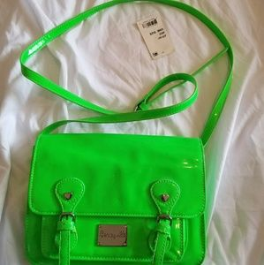 EUC, Bright Green Betsey Crossbody