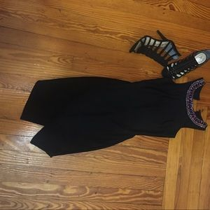 High Slit Embellished Dress 💎