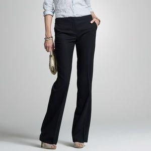 J. Crew City Fit pinstripe pants