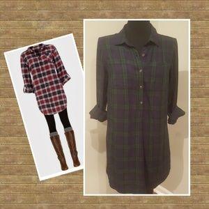Pullover Shirt Dress