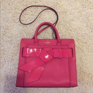 NWOT bow tie Kate spade handbag