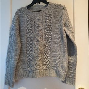 Banana republic chunky fisherman knit sweater