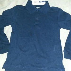 Boys Sz4 NWT Izod Polo Rich Black Color.tight Knit