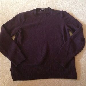 Dark purple wool sweater!