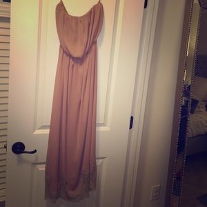 Strapless Zara midi dress