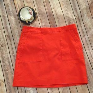 Orange Loft Skirt