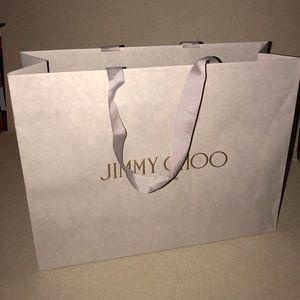 Jimmy Choo collectible shopping bag