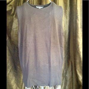 Merona Sweater Vest Gray XXL
