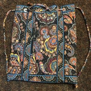 Vera Bradley Kensington Drawstring Backpack - NWOT