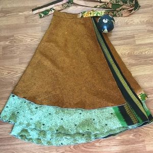 Dresses & Skirts - Tea length wrap skirt