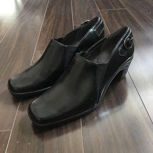Aerosoles black boots, very comfortable