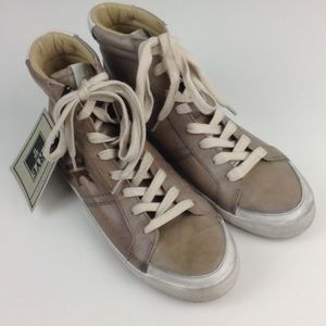 NWT Frye Dylan High Top Sneaker