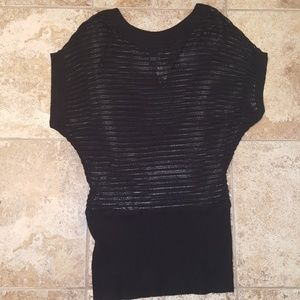 NWOT Torrid Black Knitted Shirt