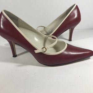 Anne Klein MacKersie Red heel size 8 1/2 M