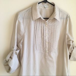 {BANANA REPUBLIC} Cotton Tunic