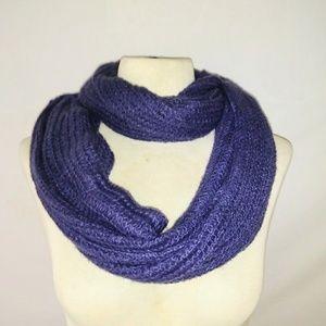 #hundredsofscarves: INDIGO Knit Infinity Scarf
