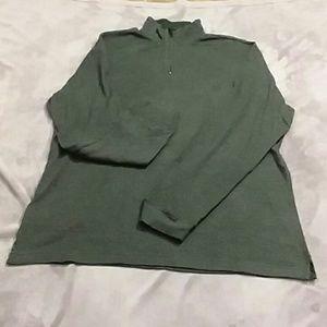 Chaps men's XL half zip pull over