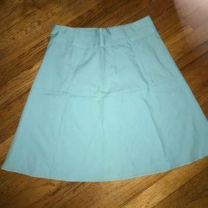 Express blue a-line skirt size 4