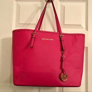 Michael Kors Saffiano Leather tote large  Bag