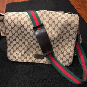 Diaper Gucci bag