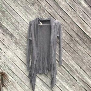 Max Studio Grey Knit Cardigan