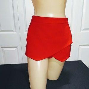 Red envelop skirt