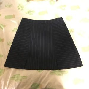 Urban Outfitters Navy & White Striped Skirt