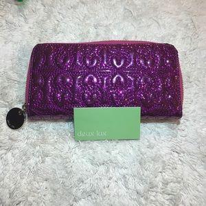 Deux Lux Pink Glitter Wallet
