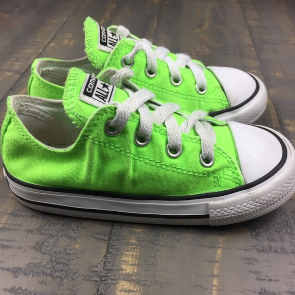 efd0fc7b80af Converse Other - Converse Chuck Taylor All Star Low Top Neon Green