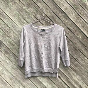 Cynthia Rowley Grey Sweater