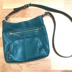 Turquoise Tignanello Cross Body Bag