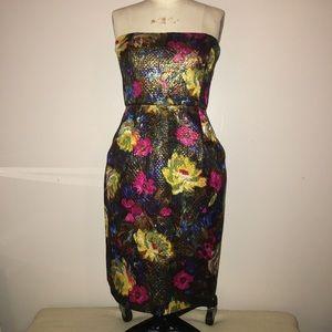 J Crew Floral Party Dress