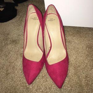 Pink Zara pumps